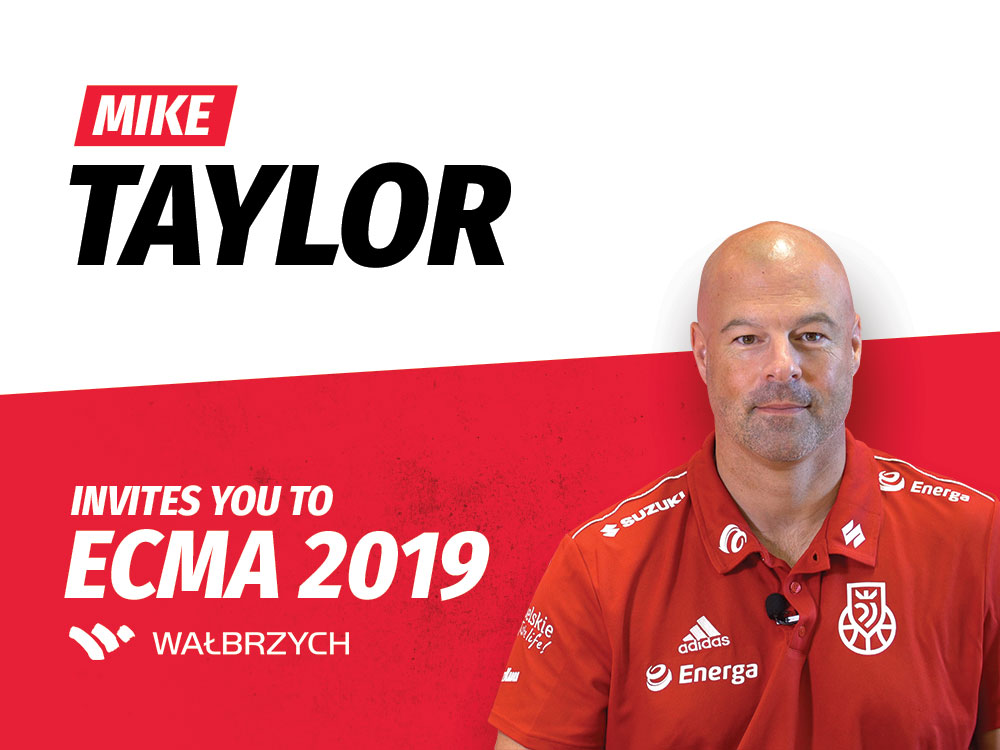 Mike Taylor invites you to European Wheelchair Basketball Championship 2019